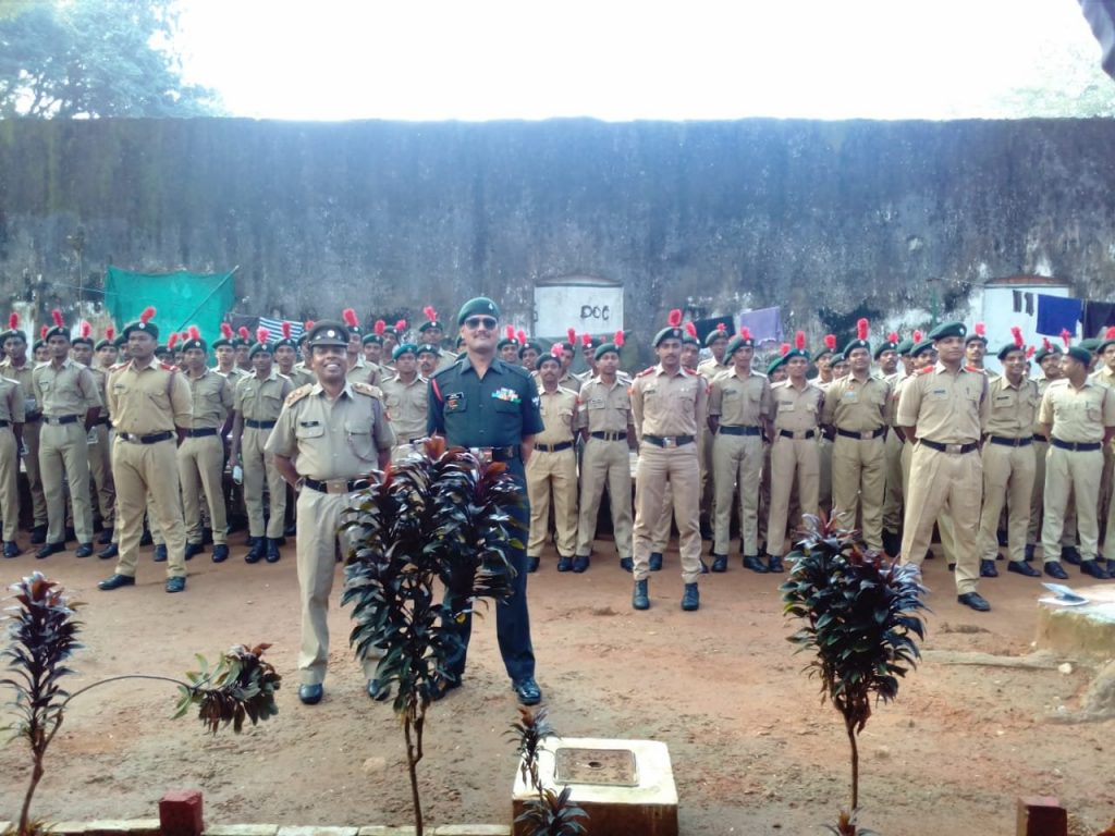 Army Attachmet camp at Pangode-2018