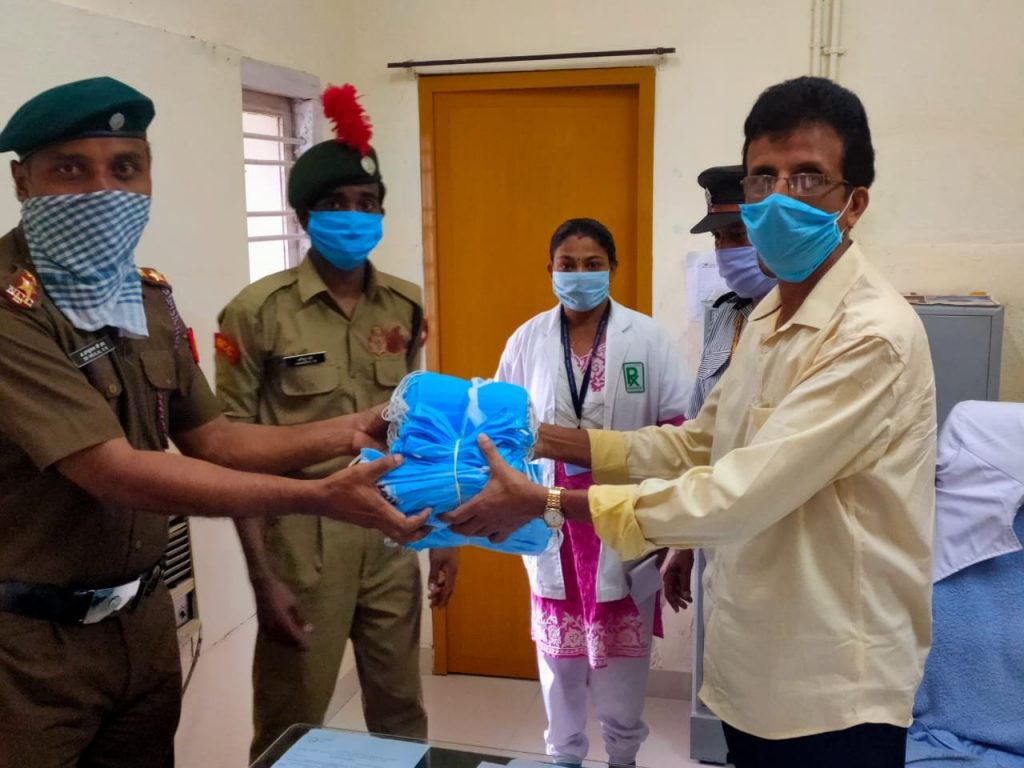 Mask Distribution at ESI hospital Ezhukone 2020