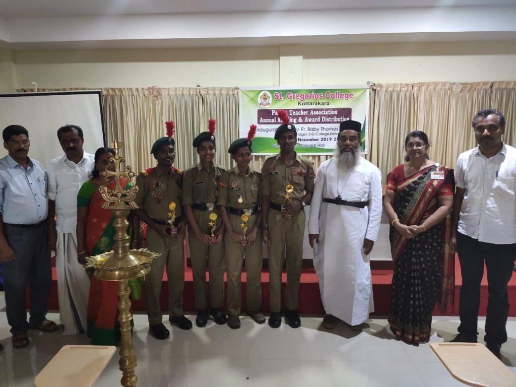 TSC-Delhi 2019 Cadets being honoured