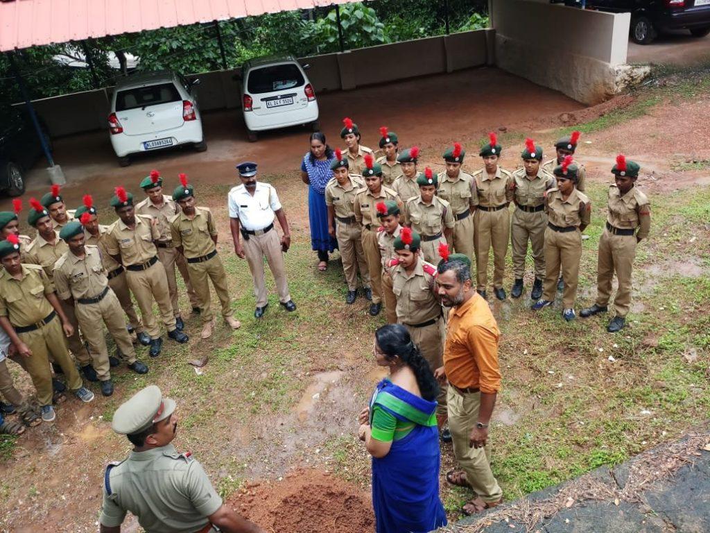 Tree Planting on World Environmental Day by Traffic SI, Kottarakara,2018